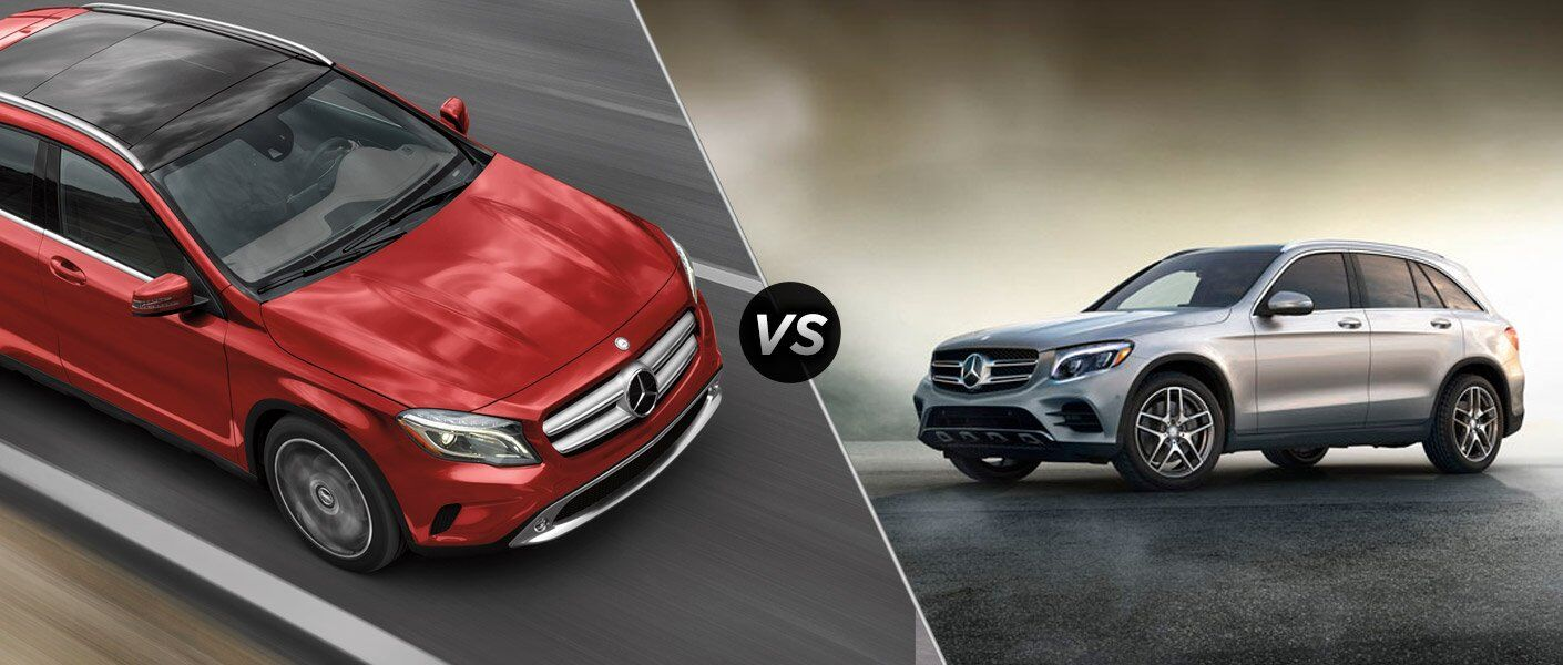 2017 mercedes-benz gla vs 2017 mercedes-benz glc