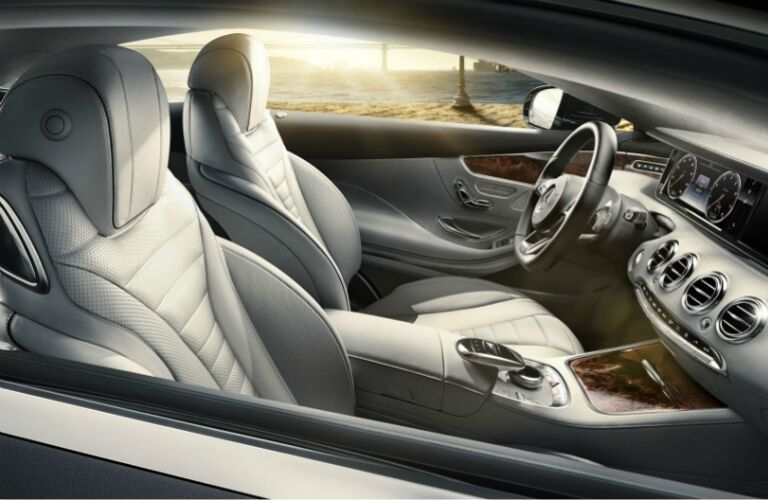 2017 mercedes-benz s-class nappa leather seats