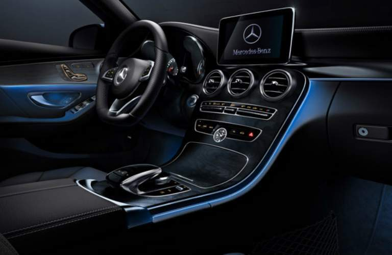 Interior Lighting Of 2018 Mercedes Benz C Cl