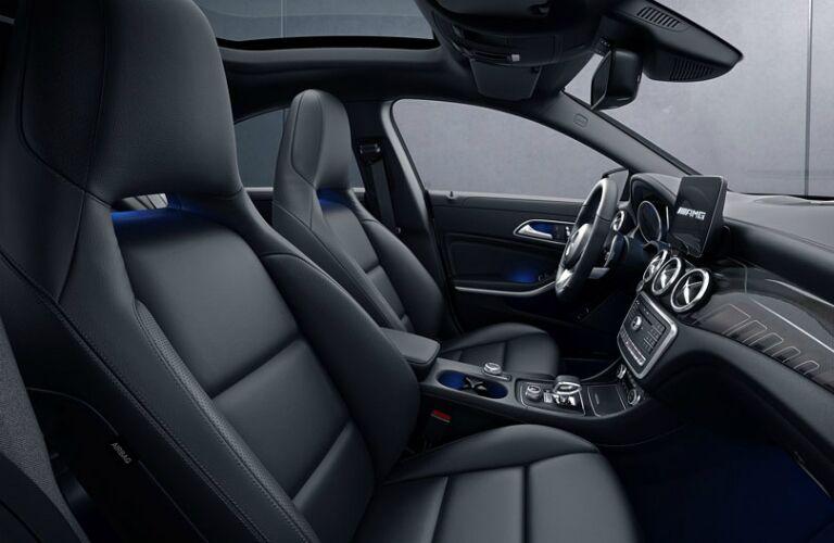 Interior of the 2018 Mercedes-Benz CLA