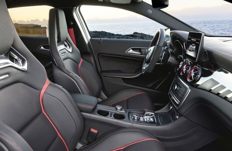 Interior seating of a 2018 Mercedes-Benz GLA