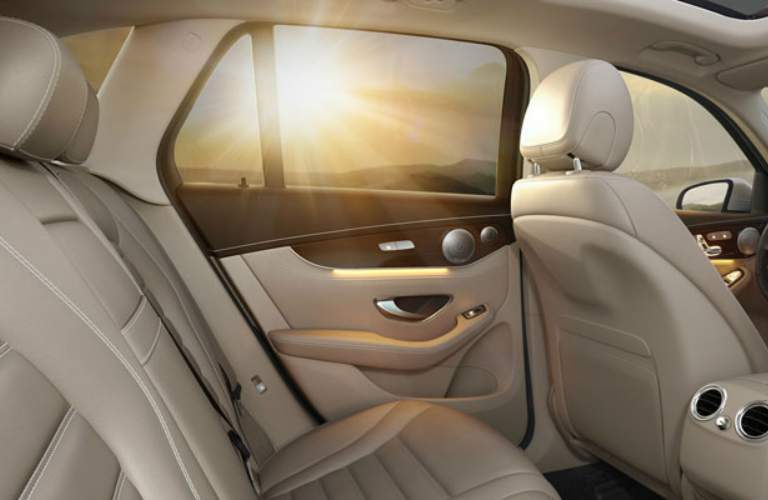 Interior seating in the 2018 Mercedes-Benz GLC