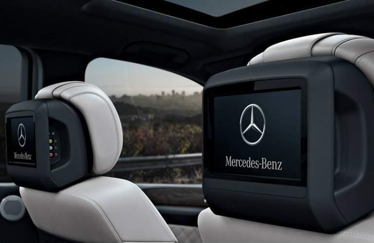 flat screen monitors in the 2018 Mercedes-Benz GLS