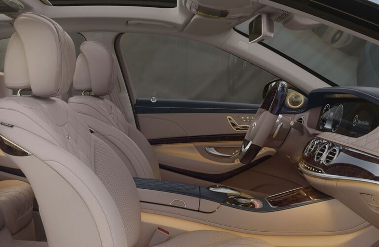 Front seats of the 2019 Mercedes-Benz S-Class