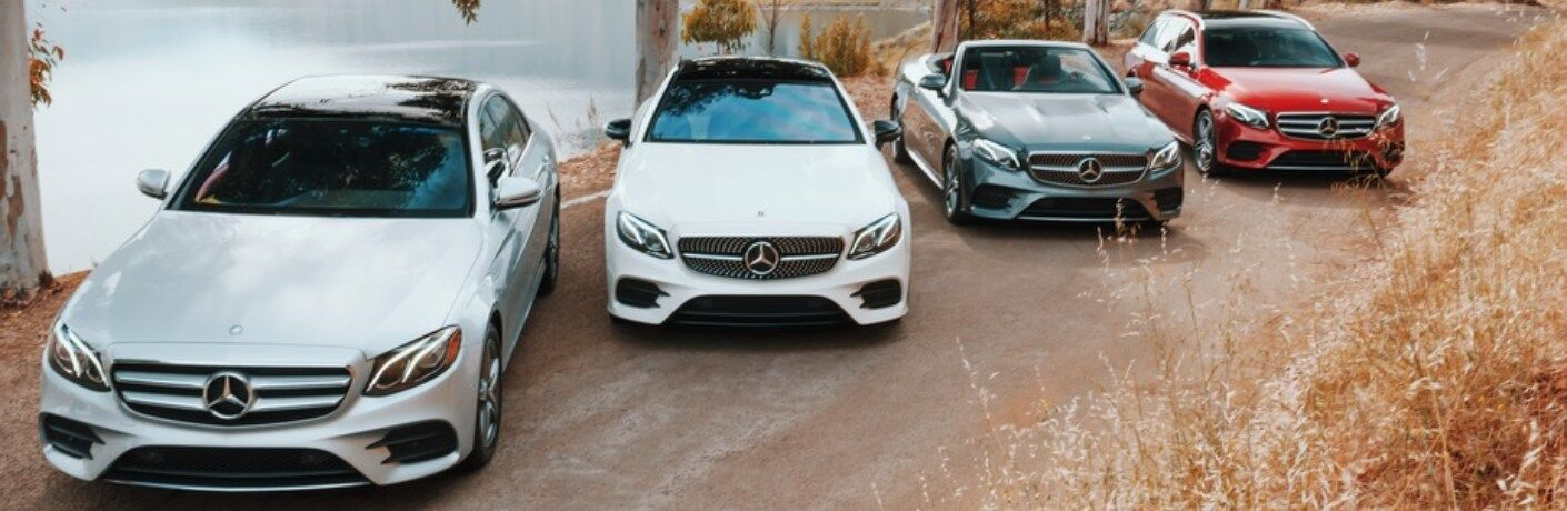 Lineup of 2019 Mercedes-Benz E-Class models