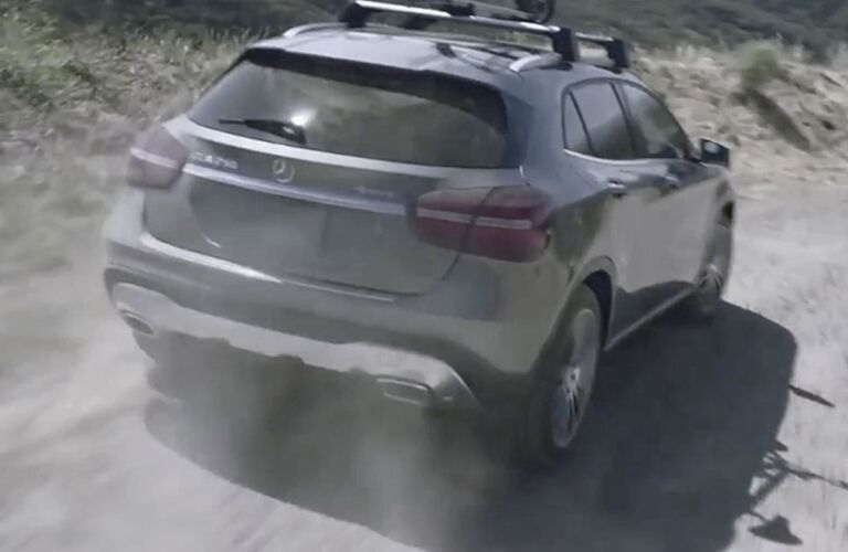 2019 Mercedes-Benz GLA driving off-road