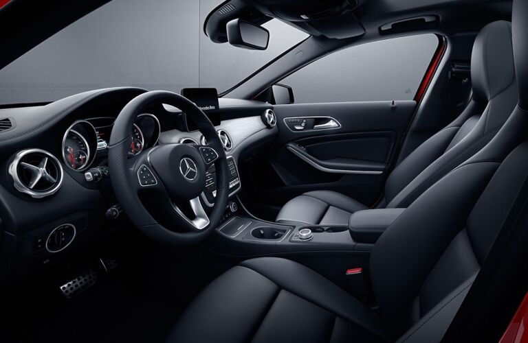 Interior of the 2019 Mercedes-Benz GLA