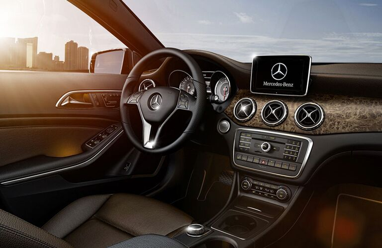 2016 mercedes-benz gla interior dashboard design
