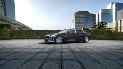 New Mercedes-Benz Maybach