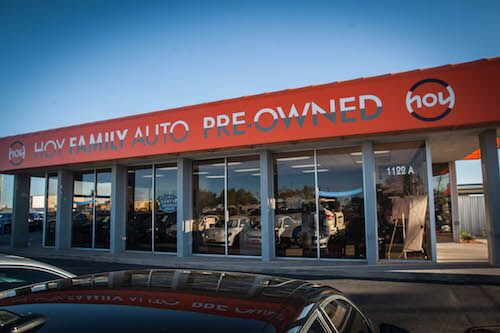 hoy family auto pre-owned in el paso, texas