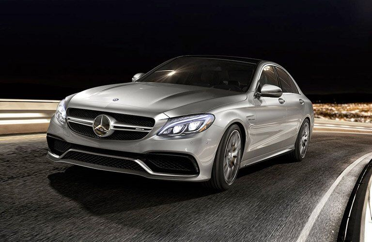 2017 Mercedes-Benz C-Class Sedan Exterior Front Profile