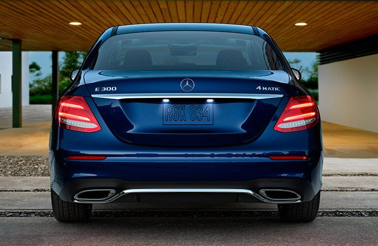 2017 Mercedes-Benz E-Class Sedan Exterior Rear Fascia