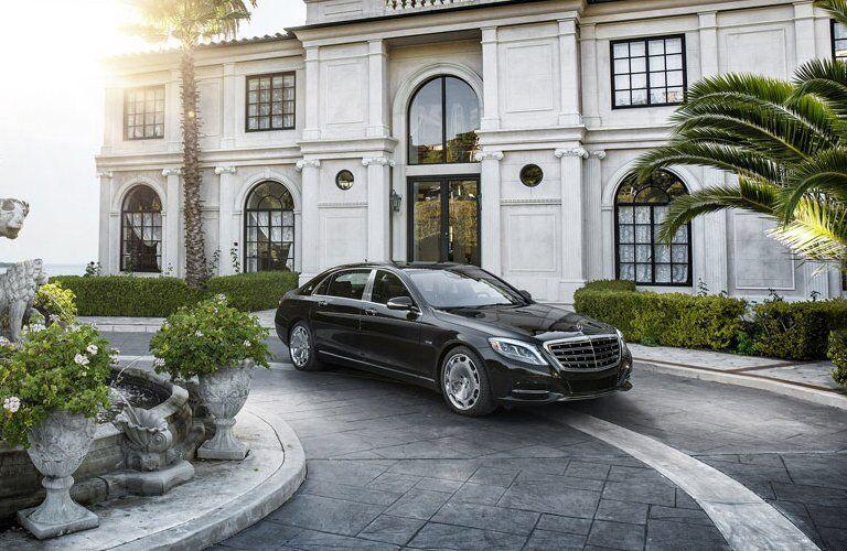 2017 Mercedes-Benz S-Class in driveway