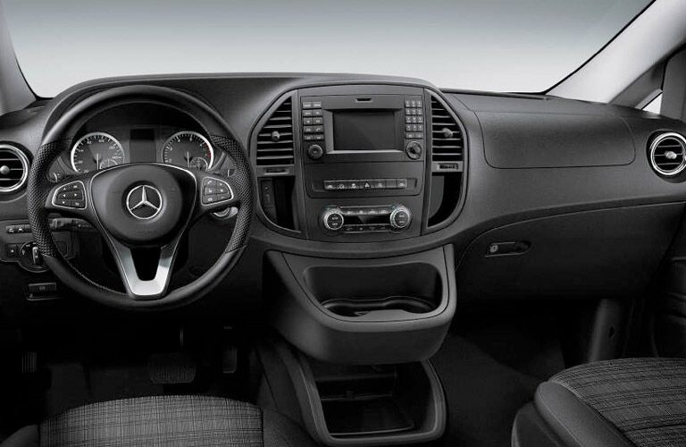 2017 Mercedes-Benz Metris Cargo dashboard