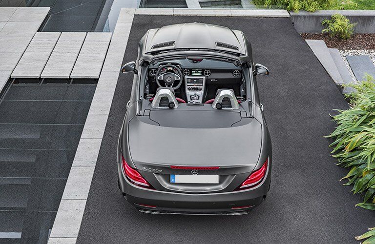 2017 Mercedes-Benz SLC top down