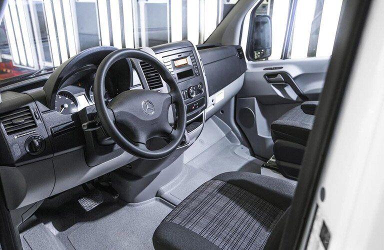 2017 Mercedes-Benz Sprinter Cargo front seat dashboard