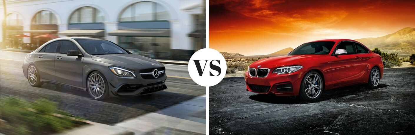 2017 Mercedes-Benz CLA vs 2017 BMW 2 Series