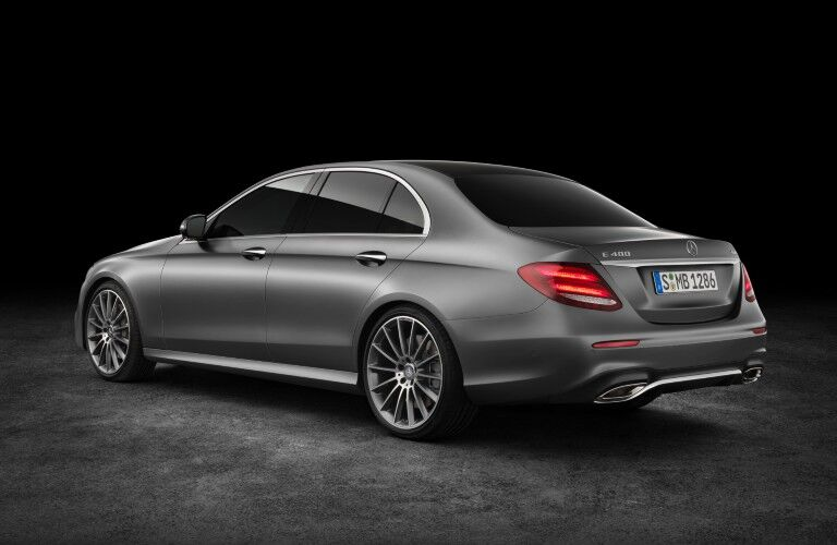 2017 Mercedes-Benz E-Class in studio