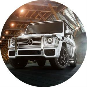 2017 Mercedes-Benz G-Class AMG G63 front grille