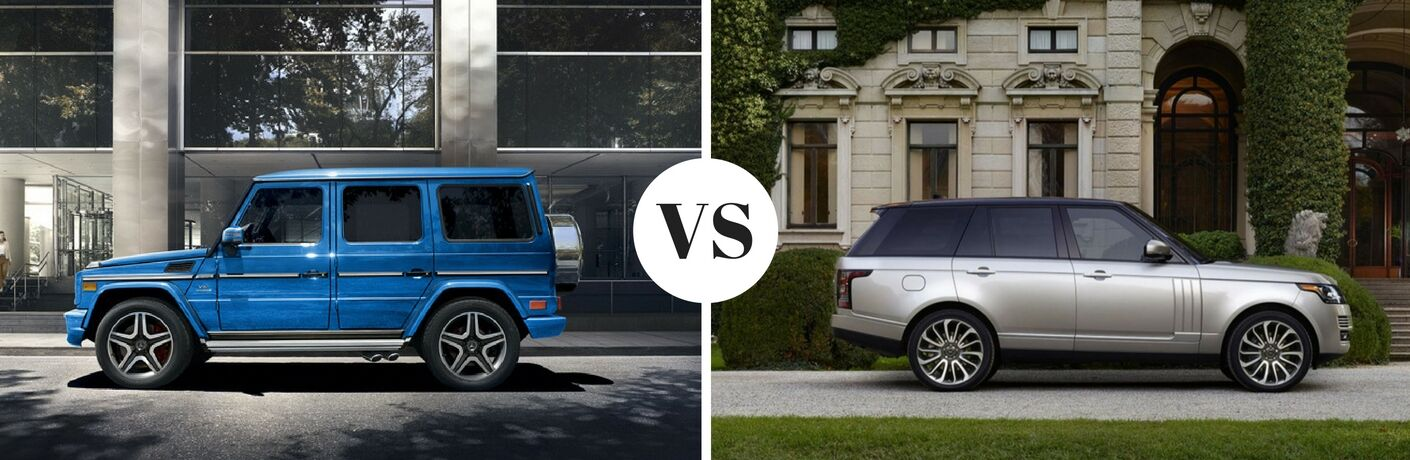 2017 Mercedes-Benz G-Class vs 2017 Land Rover Range Rover