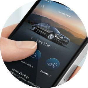 2017 Mercedes-Benz GLA mbrace app