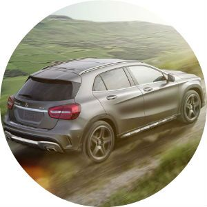 off-road 2017 Mercedes-Benz GLA
