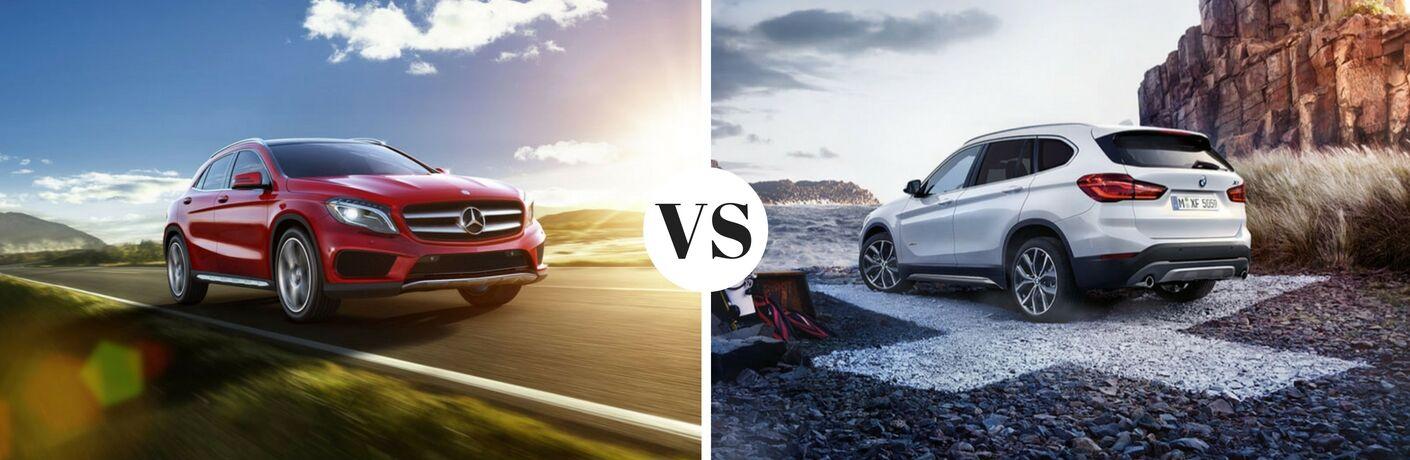 2017 Mercedes-Benz GLA vs 2017 BMW X1