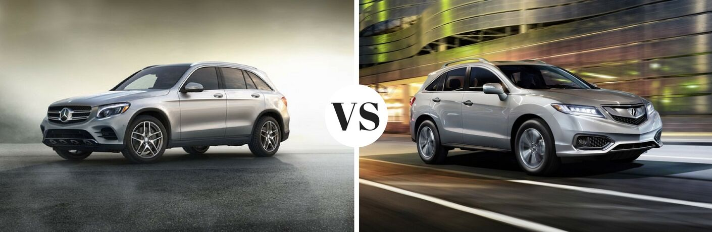 2017 Mercedes-Benz GLC vs 2017 Acura RDX