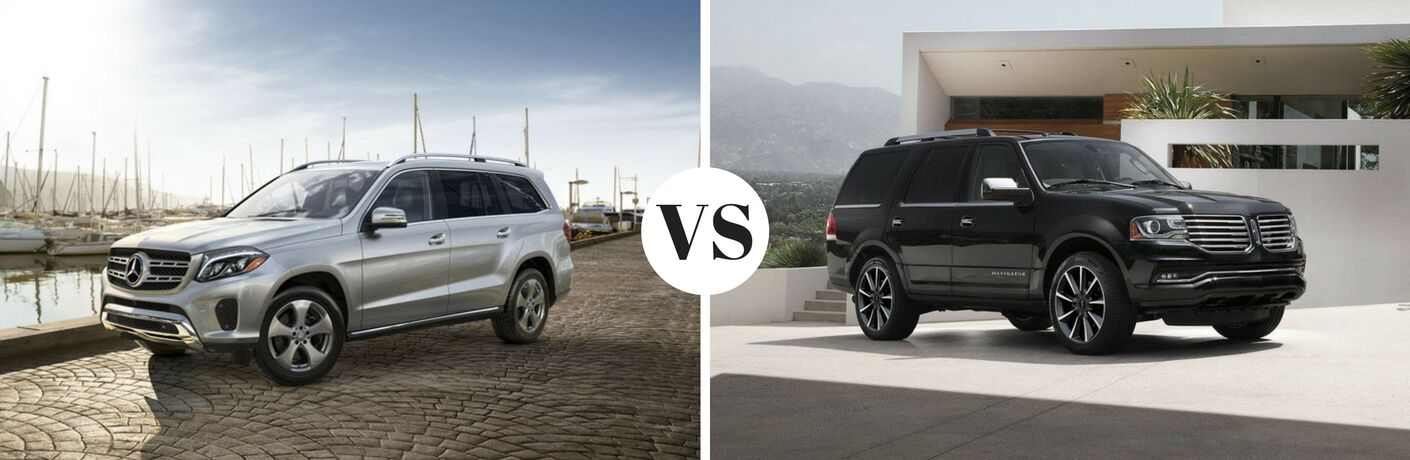 2017 Mercedes-Benz GLS vs 2017 Lincoln Navigator