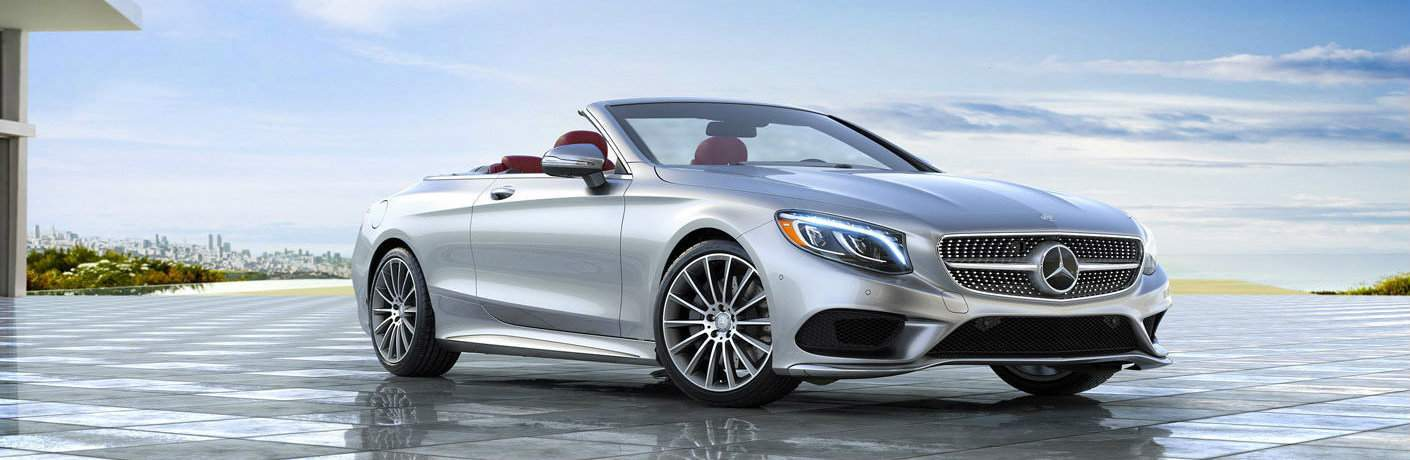 2017 Mercedes-Benz S-Class Cabaret in front of dealership