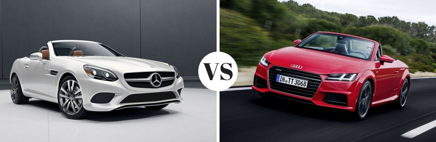 2017 Mercedes-Benz SLC vs 2017 Audi TT Roadster