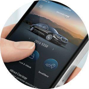 2017 Mercedes-Benz SL Roadster mbrace connect app