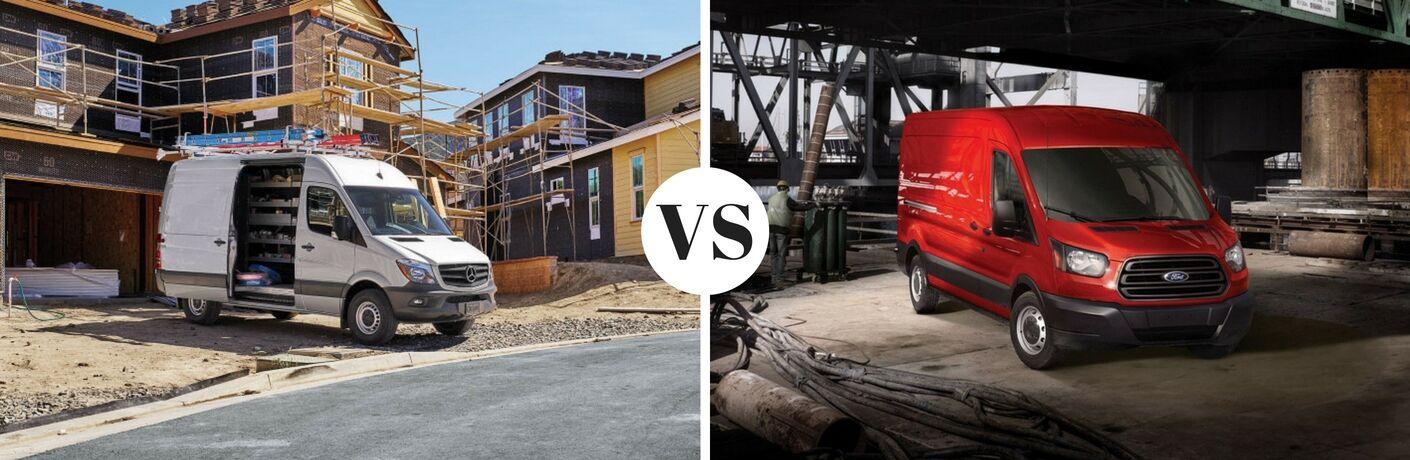 2017 Mercedes-Benz Sprinter Cargo vs 2017 Ford Transit