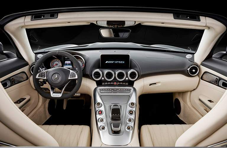 2018 Mercedes-AMG GT C trim interior dashboard and steering