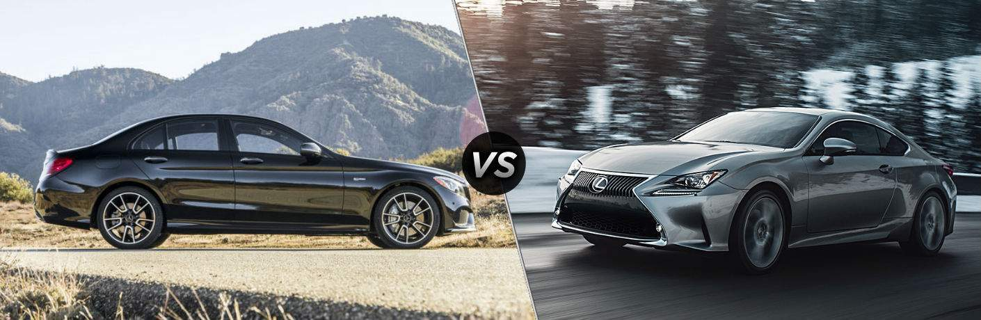 2018 Mercedes-Benz C-Class vs 2018 Lexus RC