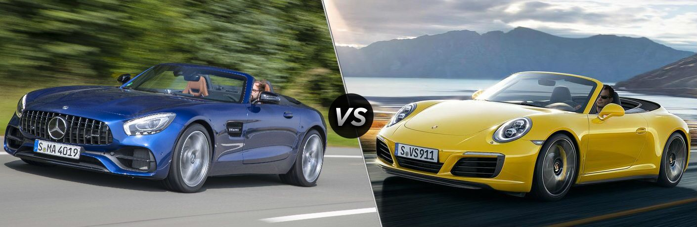 2018 Mercedes-AMG® GT vs 2018 Porsche 911 Carrera