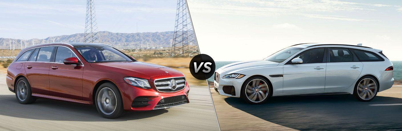 2019 Mercedes-Benz E-Class vs 2018 Jaguar XF Sportbrake