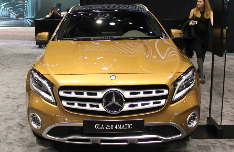 2018 Mercedes-Benz GLA front view