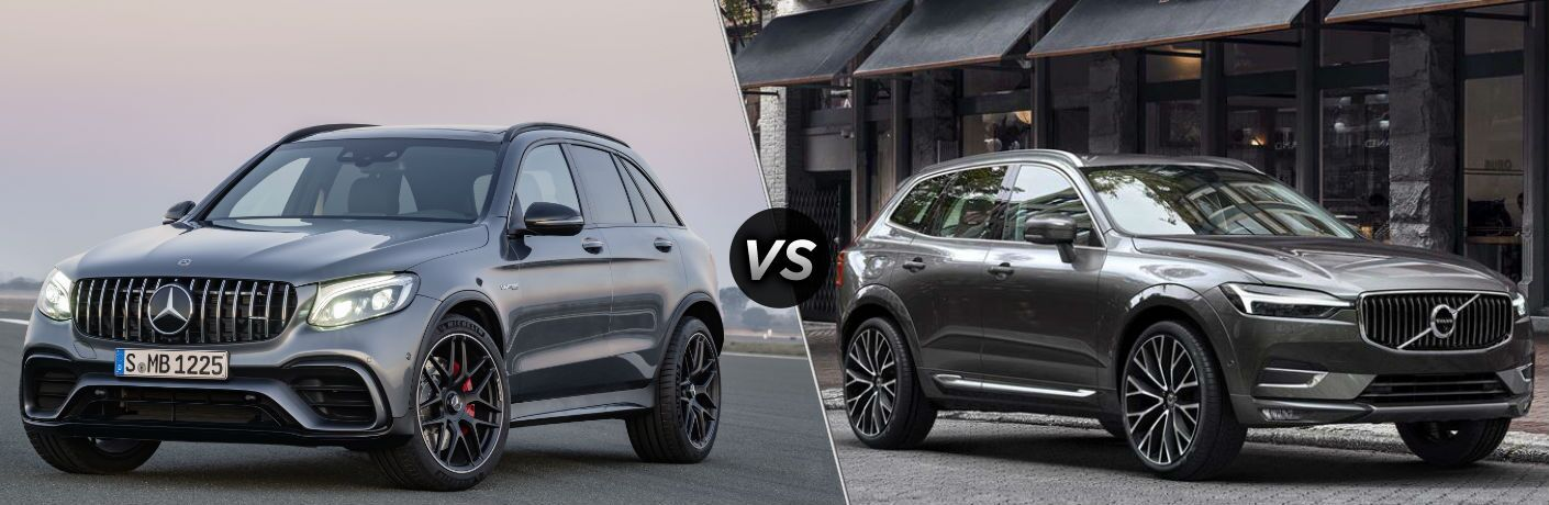 2018 Mercedes-Benz GLC vs 2018 Volvo XC60