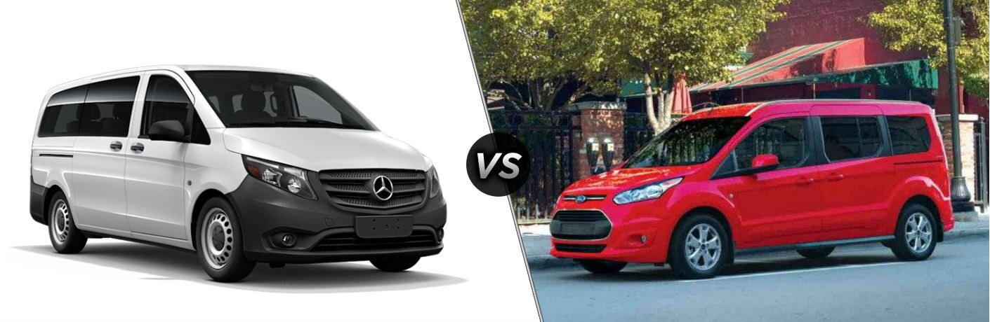 2018 Mercedes-Benz Metris vs 2018 Ford Transit Connect