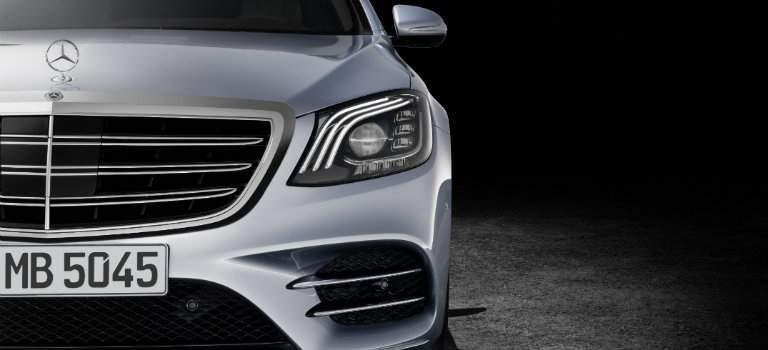2018 Mercedes-Benz S-Class front grille design