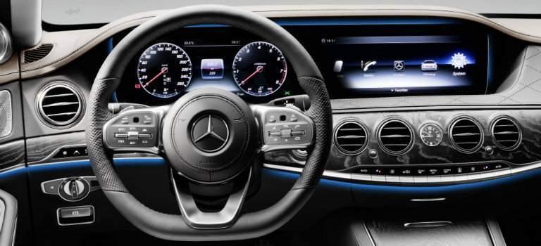 2018 Mercedes-Benz S-Class steering wheel