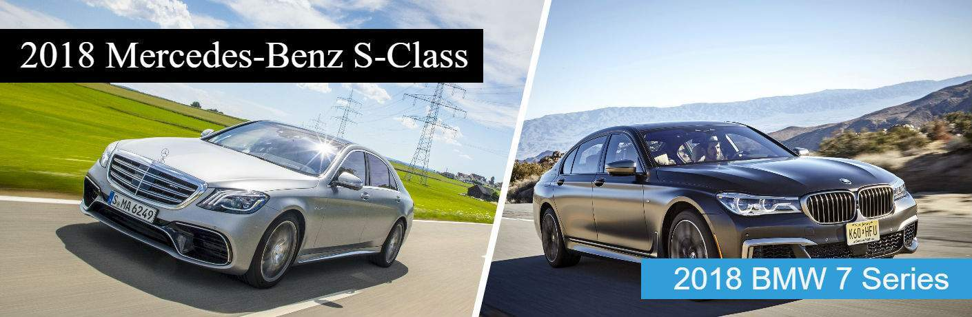 2018 Mercedes-Benz S-Class vs 2018 BMW 7 Series Long Island City, NY