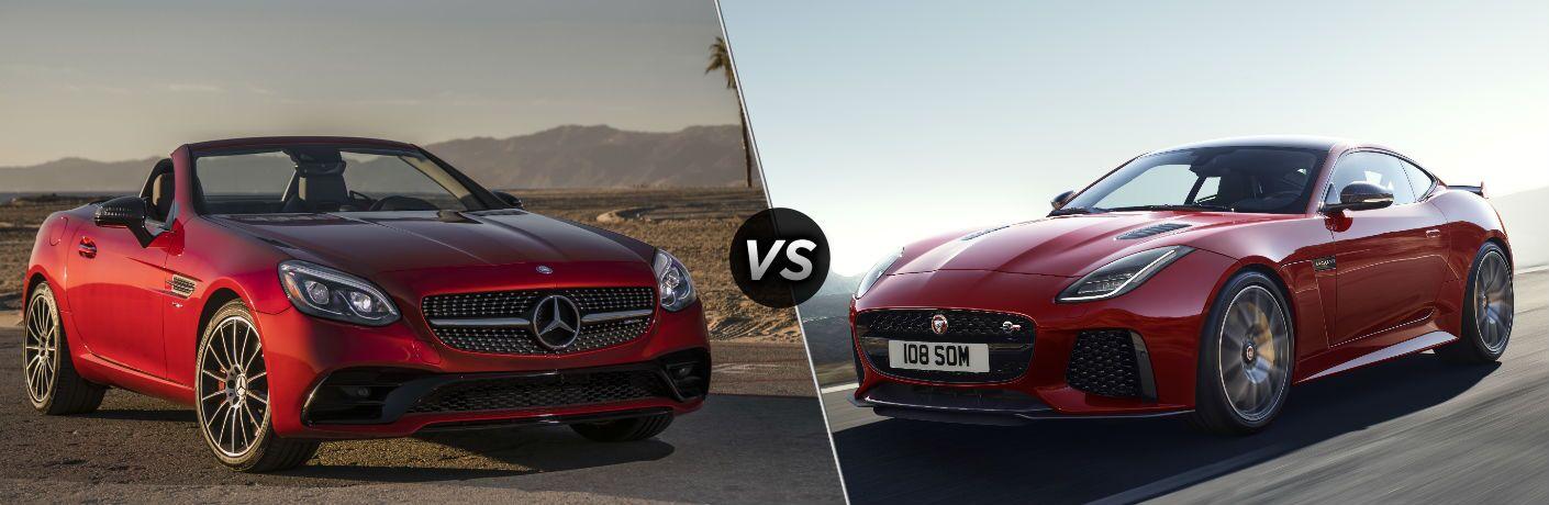 2018 Mercedes-Benz SLC vs 2019 Jaguar F-Type