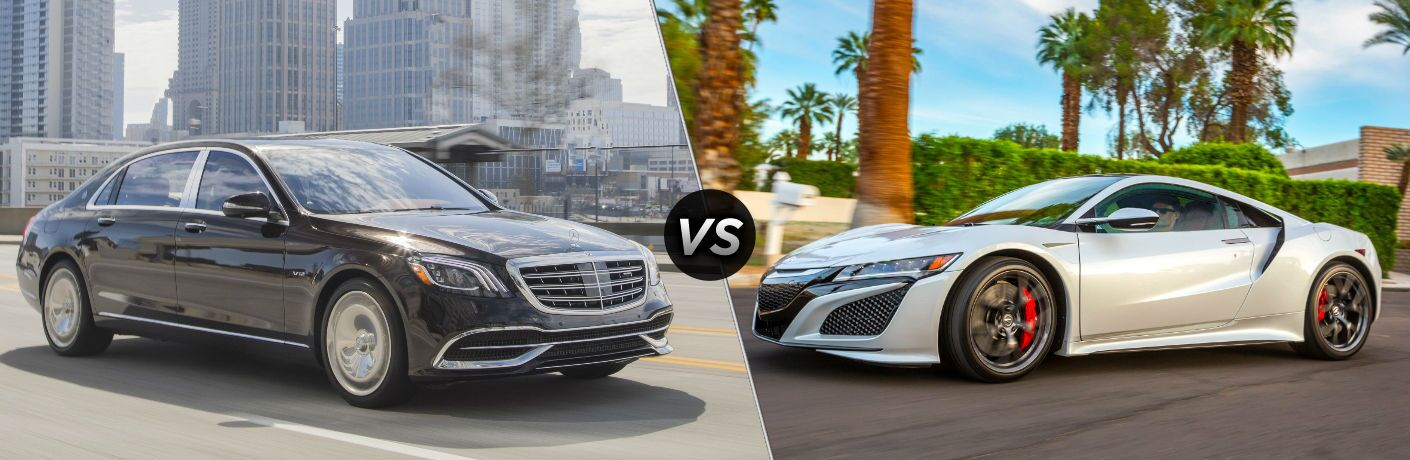 2018 Mercedes-Maybach vs 2018 Acura NSX