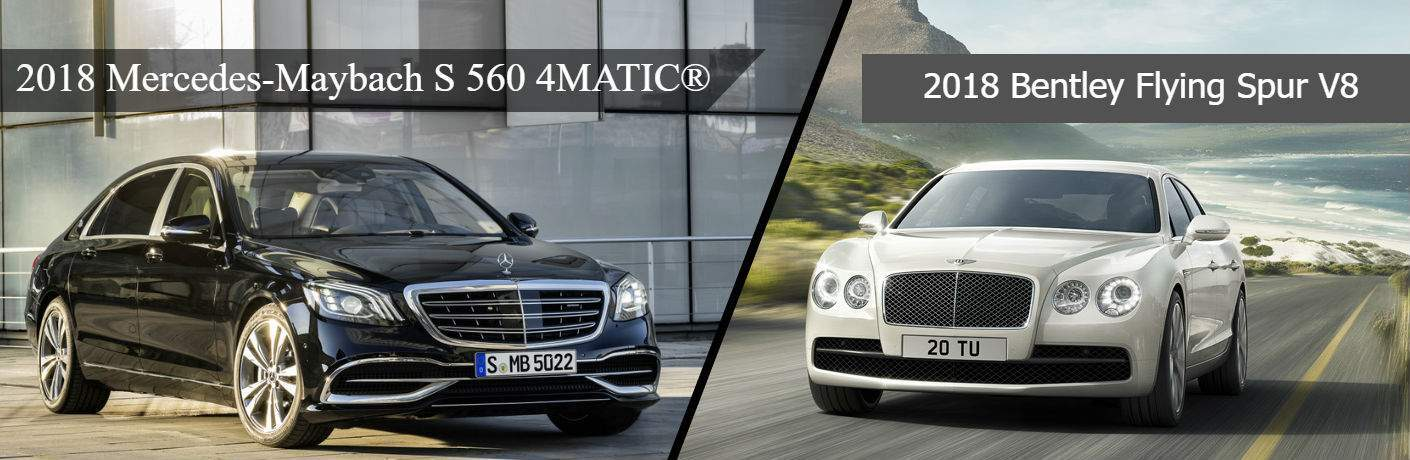 2018 Maybach S 560 Vs 2018 Bentley Flying Spur V8 long island city, ny queens nyc silver star motors