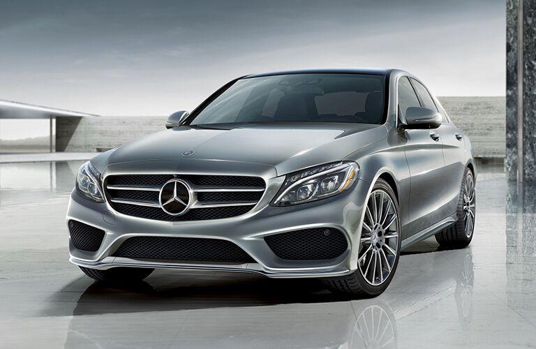 2019 Mercedes-Benz C-Class front view