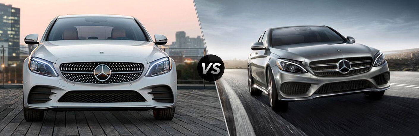 2019 Mercedes-Benz C-Class vs 2018 Mercedes-Benz C-Class