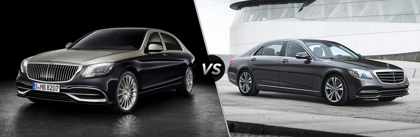 2019 Mercedes-Benz S-Class vs 2018 Mercedes-Benz S-Class