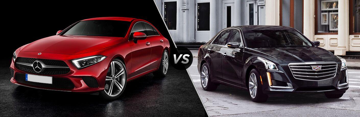 2019 Mercedes-Benz CLS vs 2019 Cadillac CTS